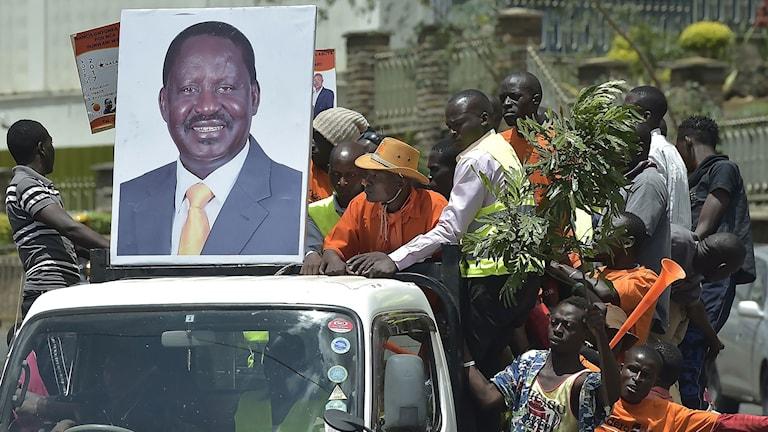 Raila Odinga ska leda alliansen inför presidentvalet i Kenya