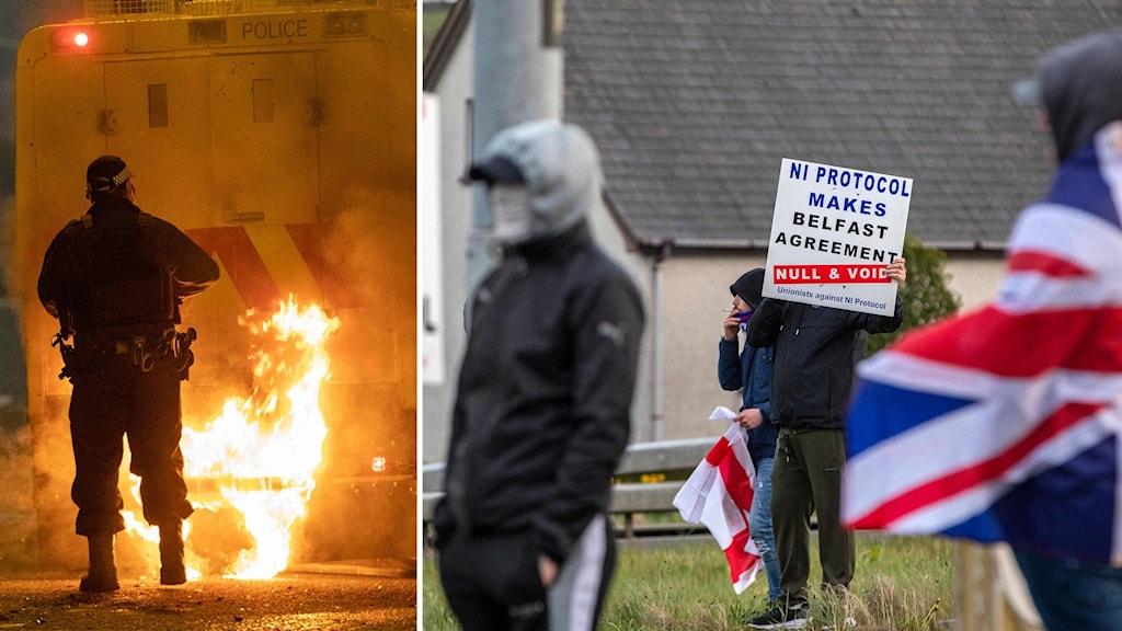 Ökade politiska motsättningar i Nordirland