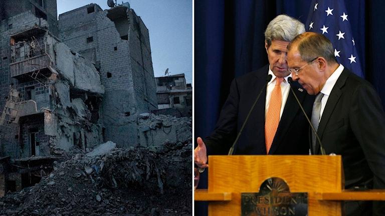 Syrien Lavrov Kerry