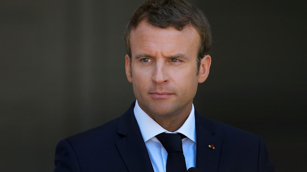 President Emmanuel Macron.