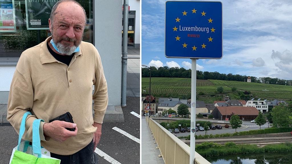 Fransmannen Guy som bor i Luxemburg