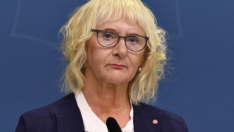 Lena Micko, civilminister (S).
