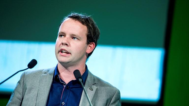 Centerpartiets Rickard Nordin