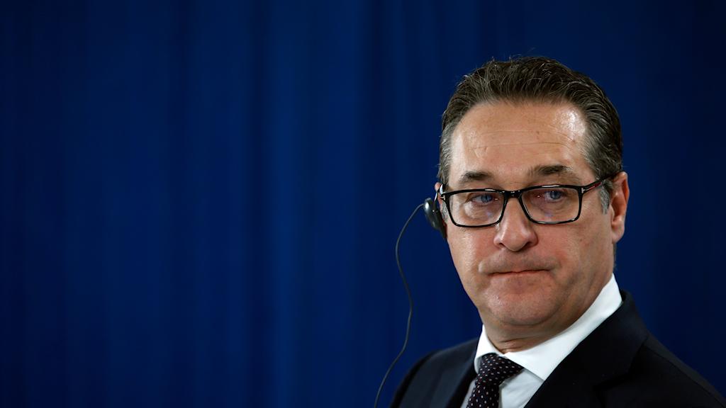 Heinz-Christian Strache. FPÖ