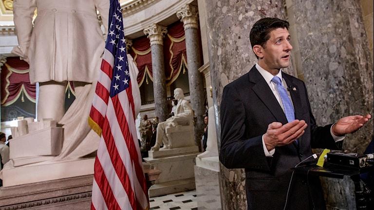 Paul Ryan, republikan och representanthusets talman.