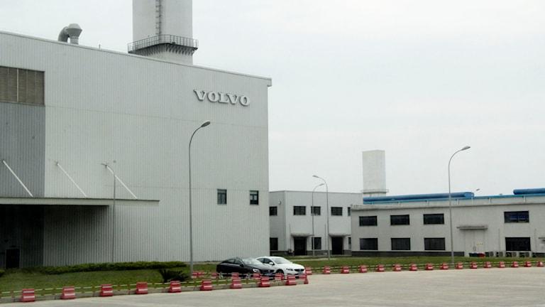Volvo Cars fabrik i Chengdu.