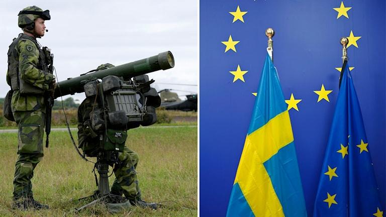Sverige deltar i försvarsprojekt i EU