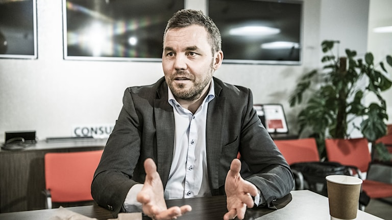 Kenneth Fredriksen, ansvarig för Huaweis nordiska och baltiska verksamhet.