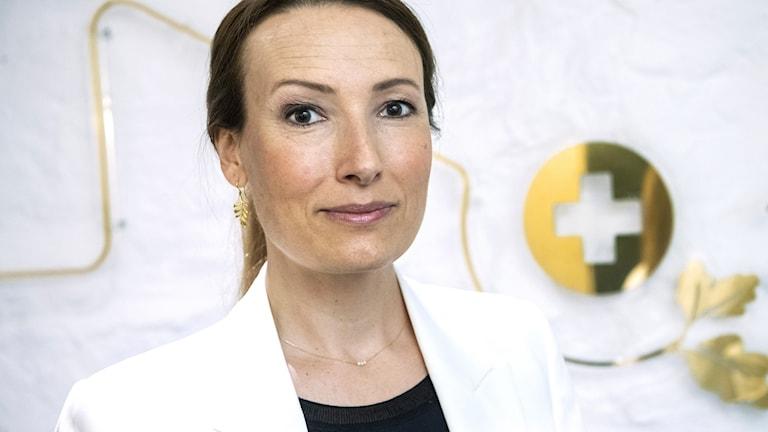 Läkarförbundets ordförande Heidi Stensmyren.