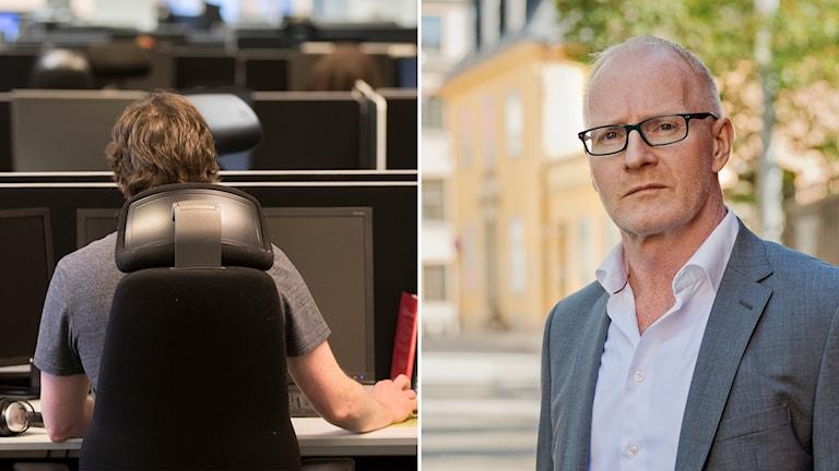 Lennart Hedström, vd för Trygghetsrådet.