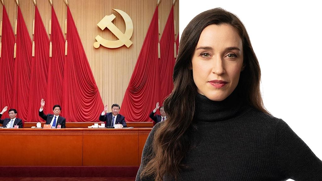 Hanna Sahlberg, Ekots Kinakommentator.