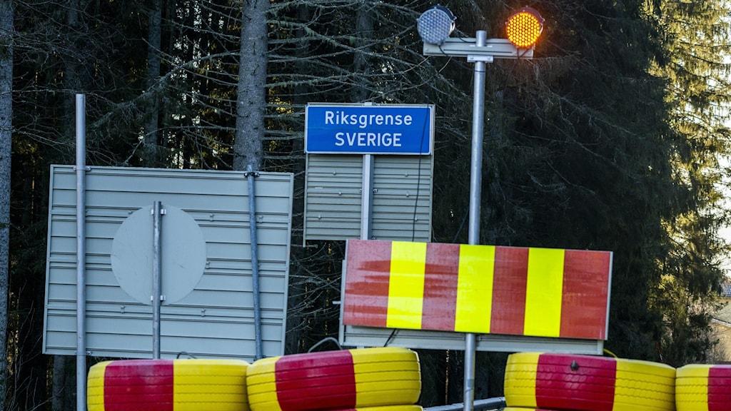 STÄNGD GRÄNS NORGE-SVERIGE