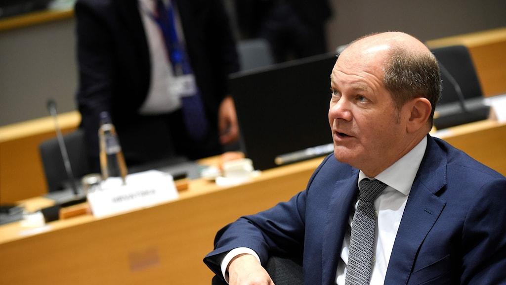 Tysklands finansminister Olaf Scholz.