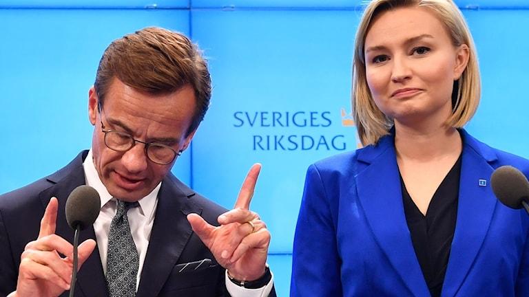 Ulf Kristersson och Ebba Busch Thor