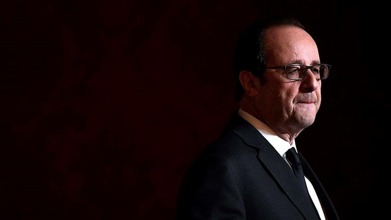 Frankrikes president François Hollande.