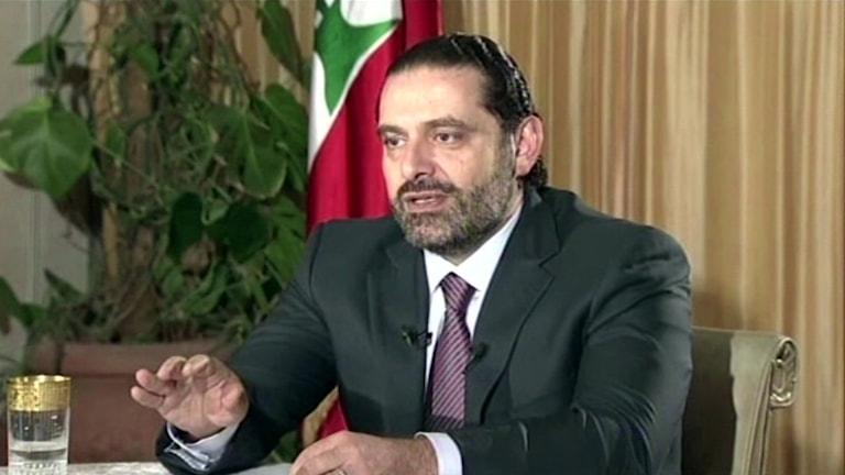 Libanons premiärminister Saad al-Hariri.