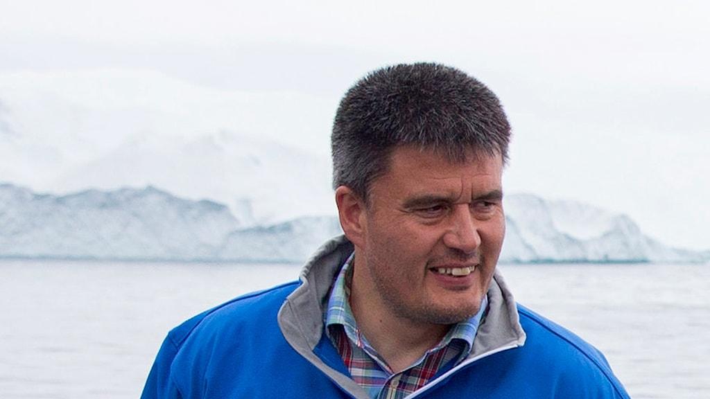 Grönlands regeringschef Kim Kielsen.
