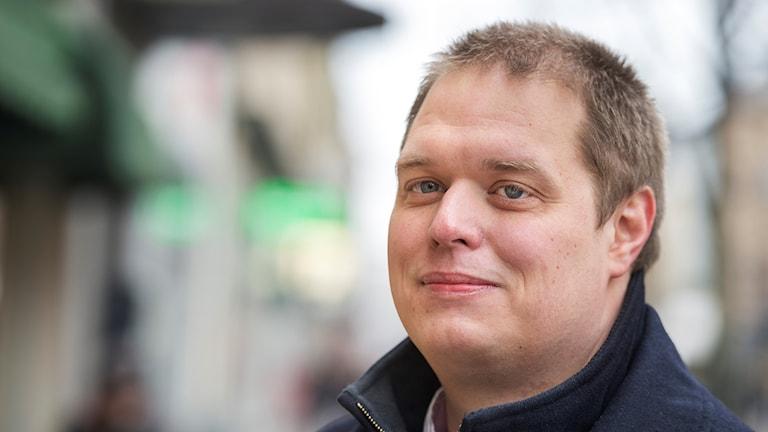 Sverigedemokraten Jonas Millard.