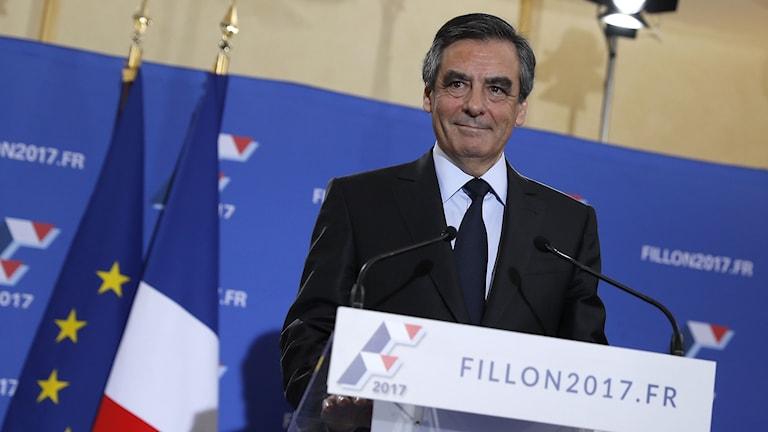 François Fillon, tidigare premiärminister i Frankrike.