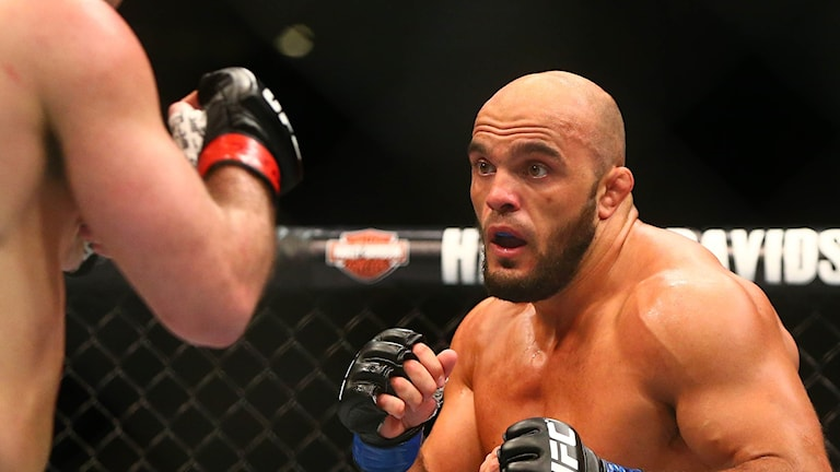 Ilir Latifi, en av världens bästa MMA-fighters.
