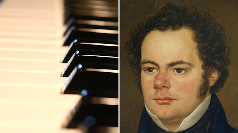 Pianotangenter och Franz Schubert.