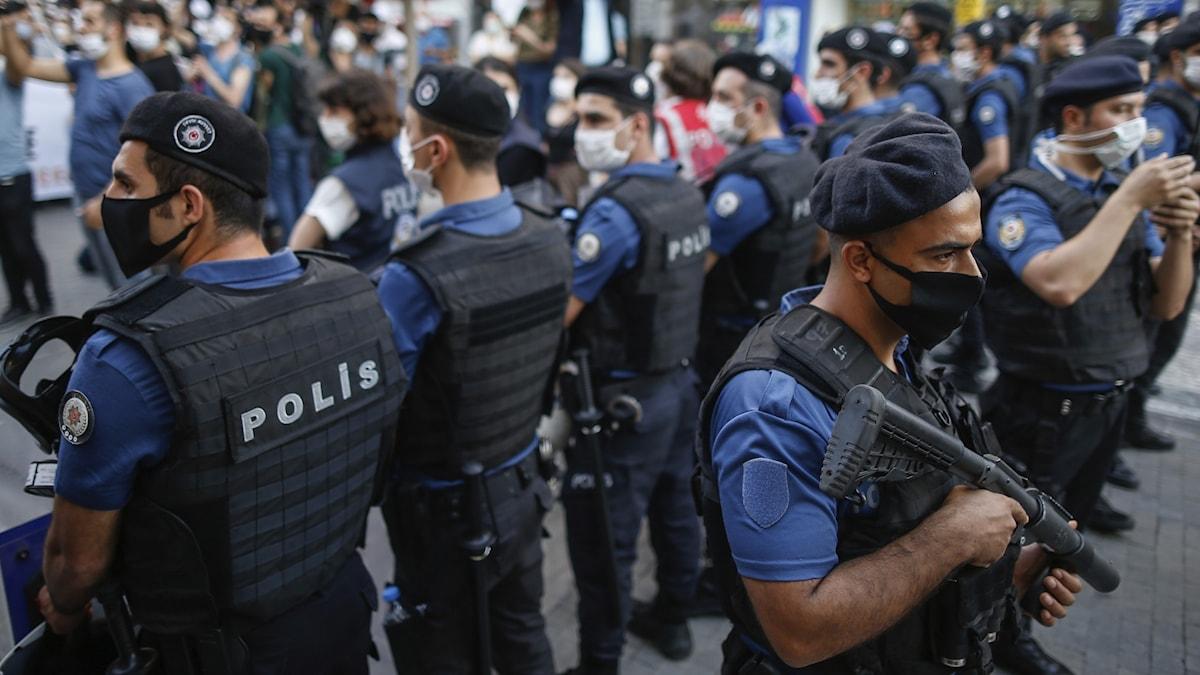 Turkisk polis.