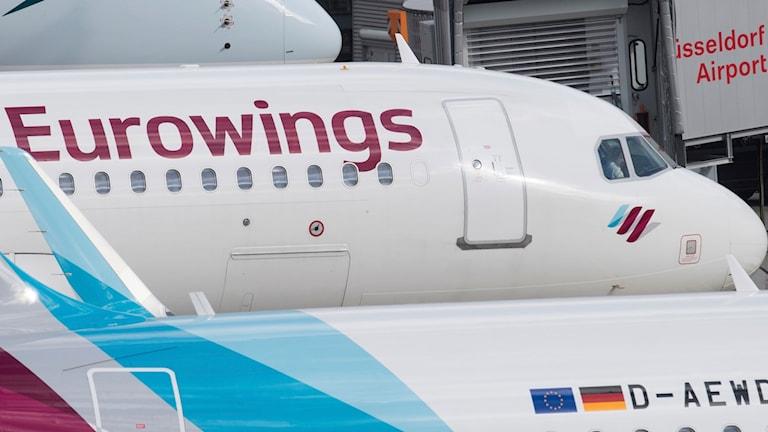 Eurowings flygplan