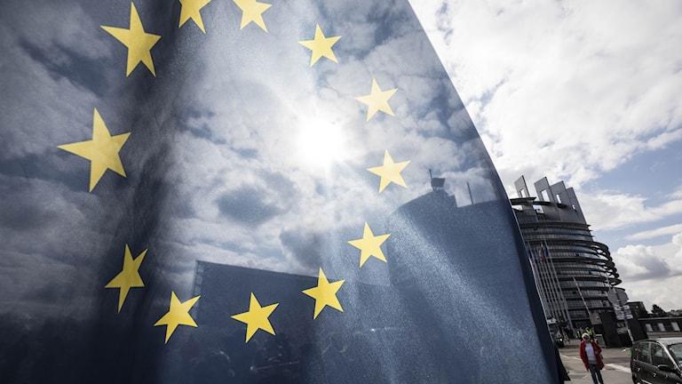 EU-flagga.