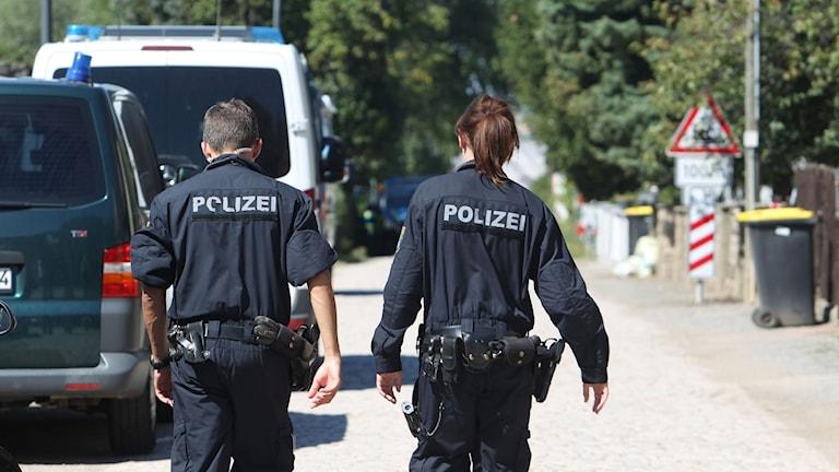 poliser tyskland