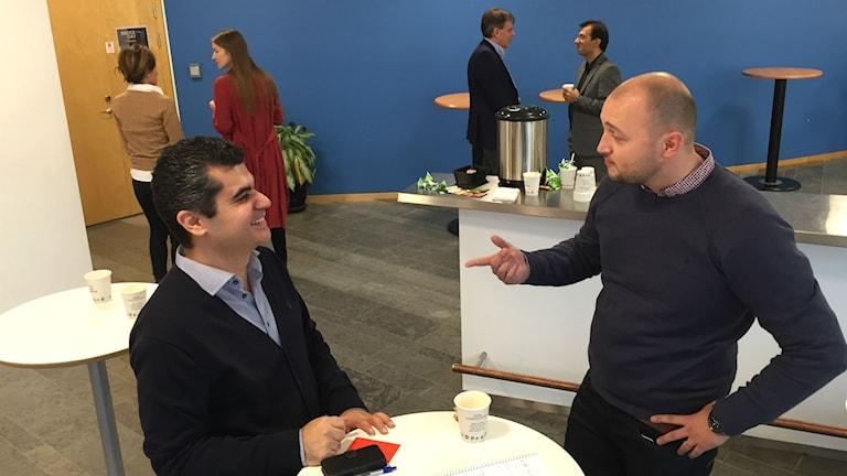 Mohammed Reza och Djani Skrgo