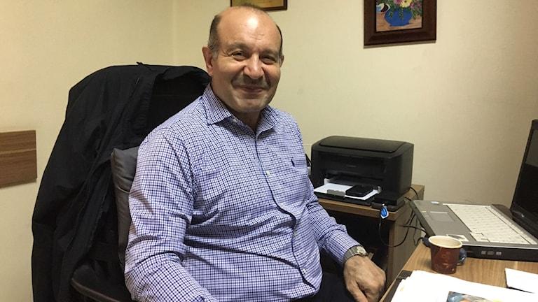 Moustapha Alloush, vän och partikamrat med Saad al-Hariri.