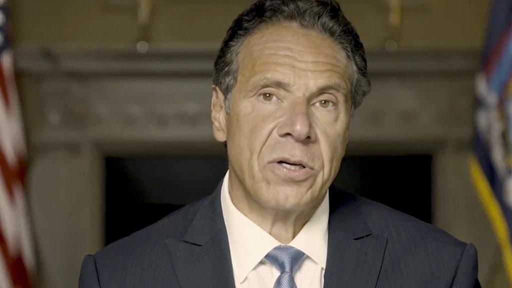 Andrew Cuomo, guvernör i New York.