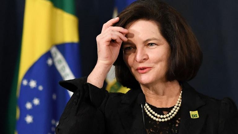 Brasiliens nya riksåklagare kvinnan Raquel Dodge.