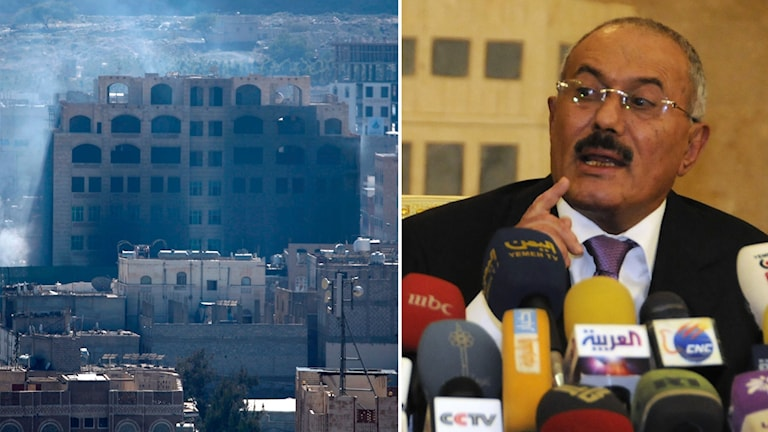 Explosion i Jemen.
