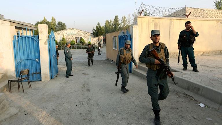 Säkerhetsstyrkor i Afghanistan