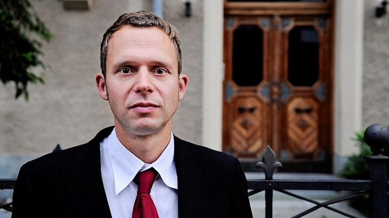 Jens Holm, riksdagsledamot för Vänsterpartiet.