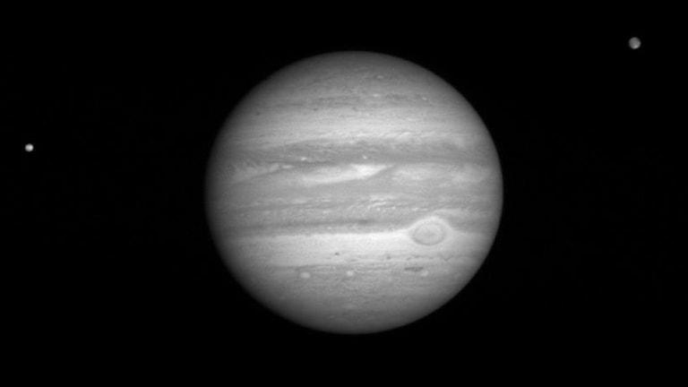 Jupiters måne Europa.