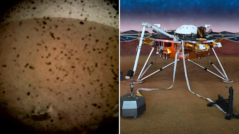 Insight Mars rymden