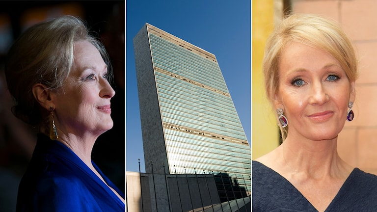 Maryl Streep, JK Rowling, FN