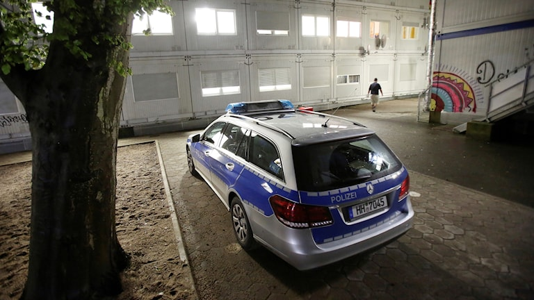 Tysk polisbil.