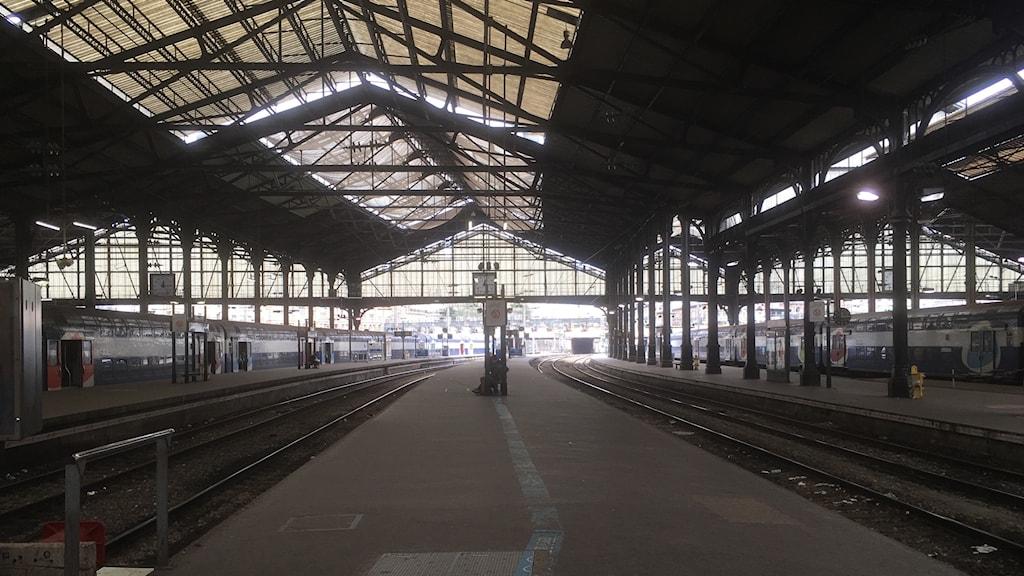 Tågstationen Saint Lazare