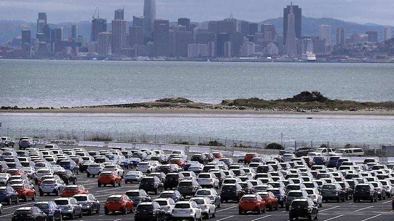Bilar hos återförsäljare i USA
