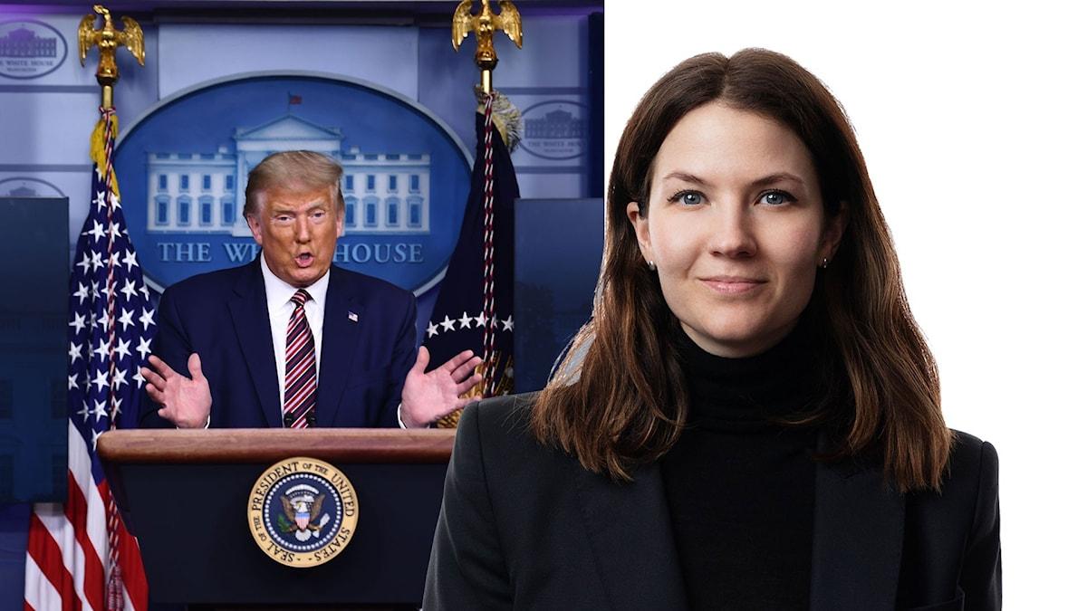 Donald Trump och Cecilia Khavar