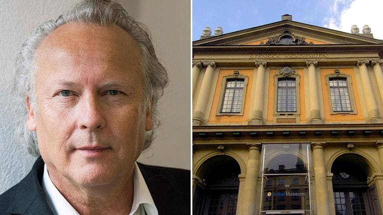 Klas Östergren begär utträde ur Akademien