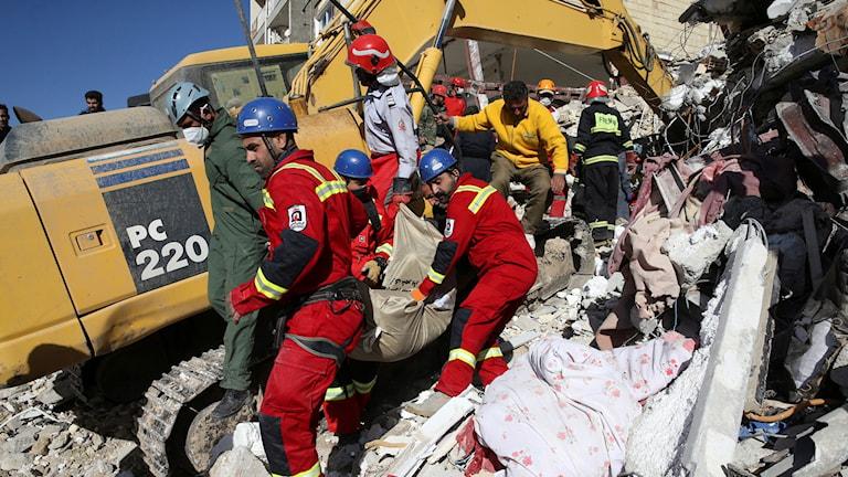 Iran jordbävning