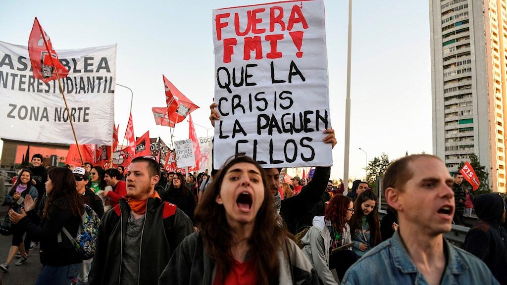 Demonstranter.