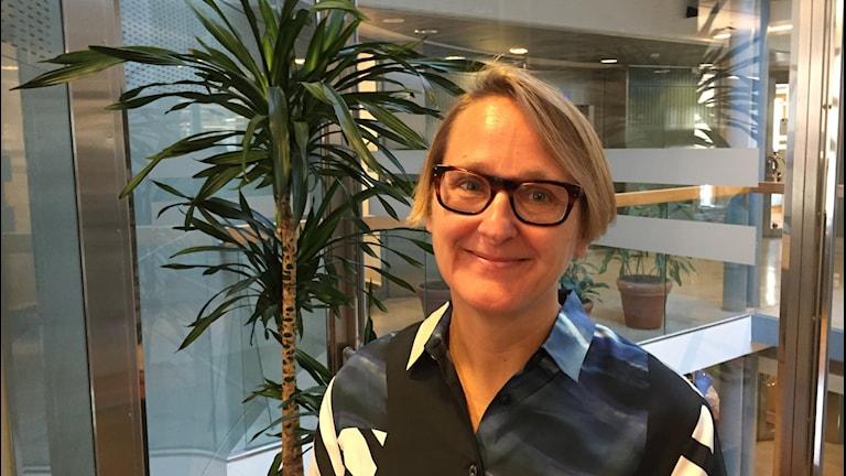 Annika Sundén, analyschef Arbetsförmedlingen.