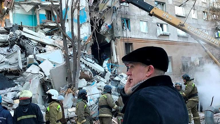 4 döda i gasexplosion i Ryssland