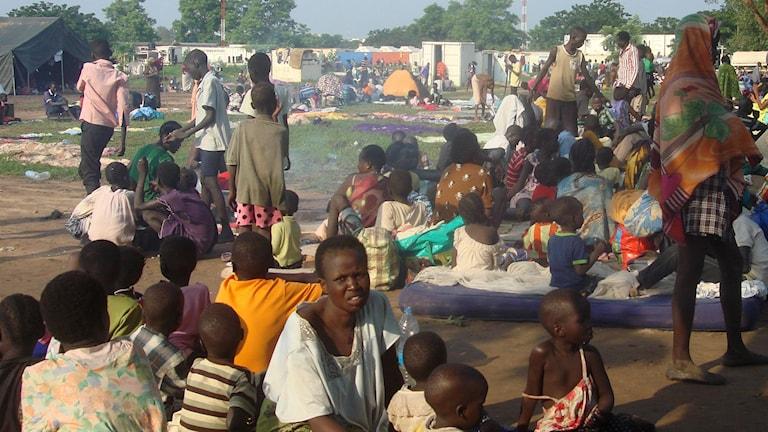 Ett nytt fullskaligt inbördeskrig skulle innebära en katastrof för civilbefolkningen som redan nu hotas av hungersnöd.