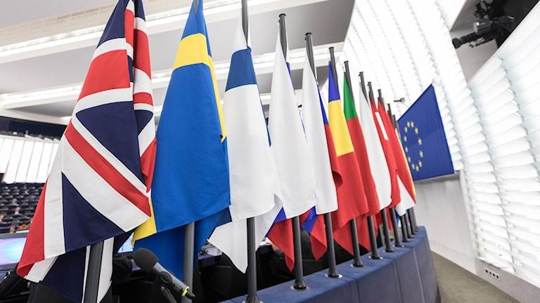 Flaggor i EU